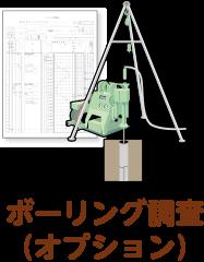 ボーリング調査(オプション)