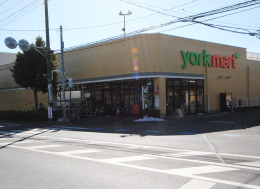 ヨークマート三室店(徒歩5分)