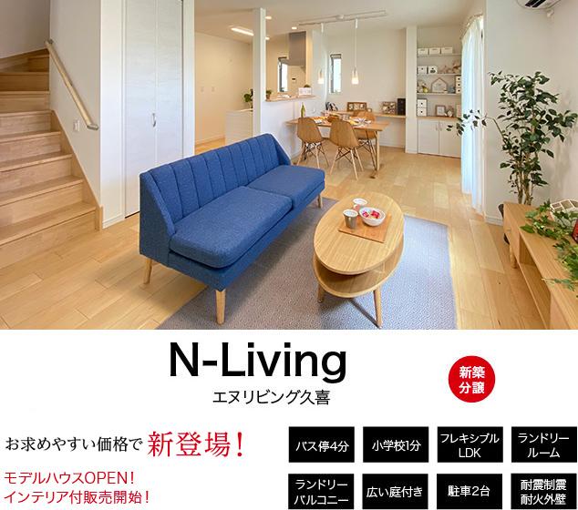 新白岡駅徒歩3分!21帖超のLDK+和洋室と快適ランドリールームのある家