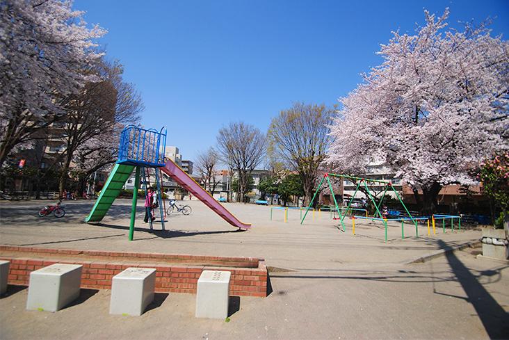原際公園(徒歩約6分)